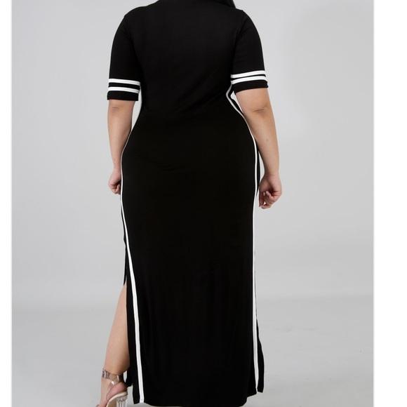 Dresses | Plus Size Jersey Maxi Dress | Poshmark